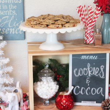 HOSTING A COOKIES + COCOA PARTY