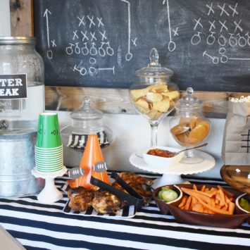 SUPER BOWL PARTY IDEAS (+ A FREE PRINTABLE!)